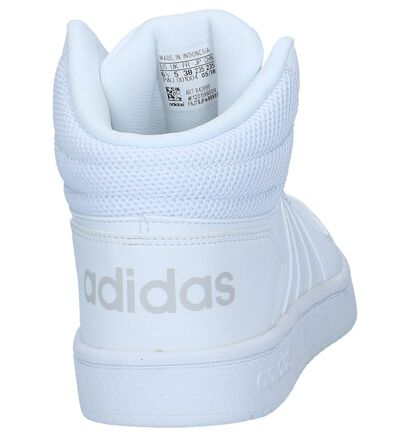 adidas Hoops 2.0 Baskets en Gris en simili cuir (252563)