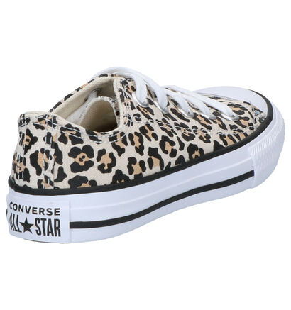 Converse Chuck Taylor AS OX Beige Sneakers in stof (263505)