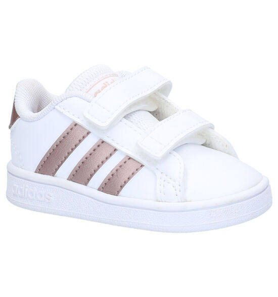 adidas Grand Court Babysneakers Wit