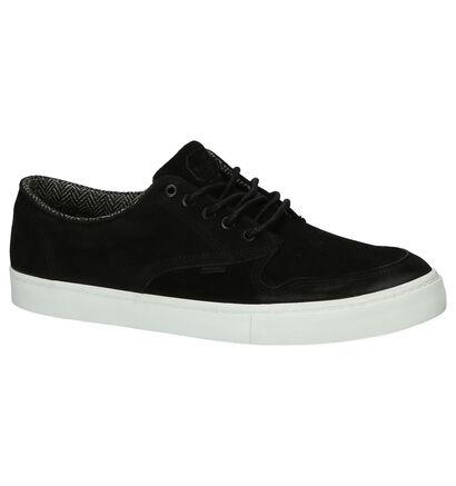 Element Skate sneakers en Noir en daim (200727)