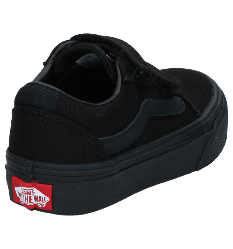 Vans Ward V Zwarte Sneakers in stof (266617)