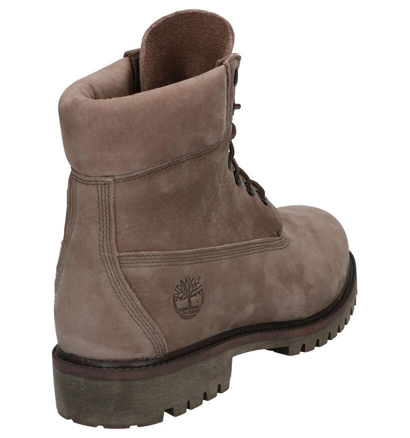 Timberland 6 Inch Premium Boots Groen in nubuck (255313)