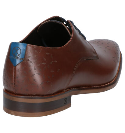 Ambiorix Derril Chaussures Habillées en Marron en cuir (259362)