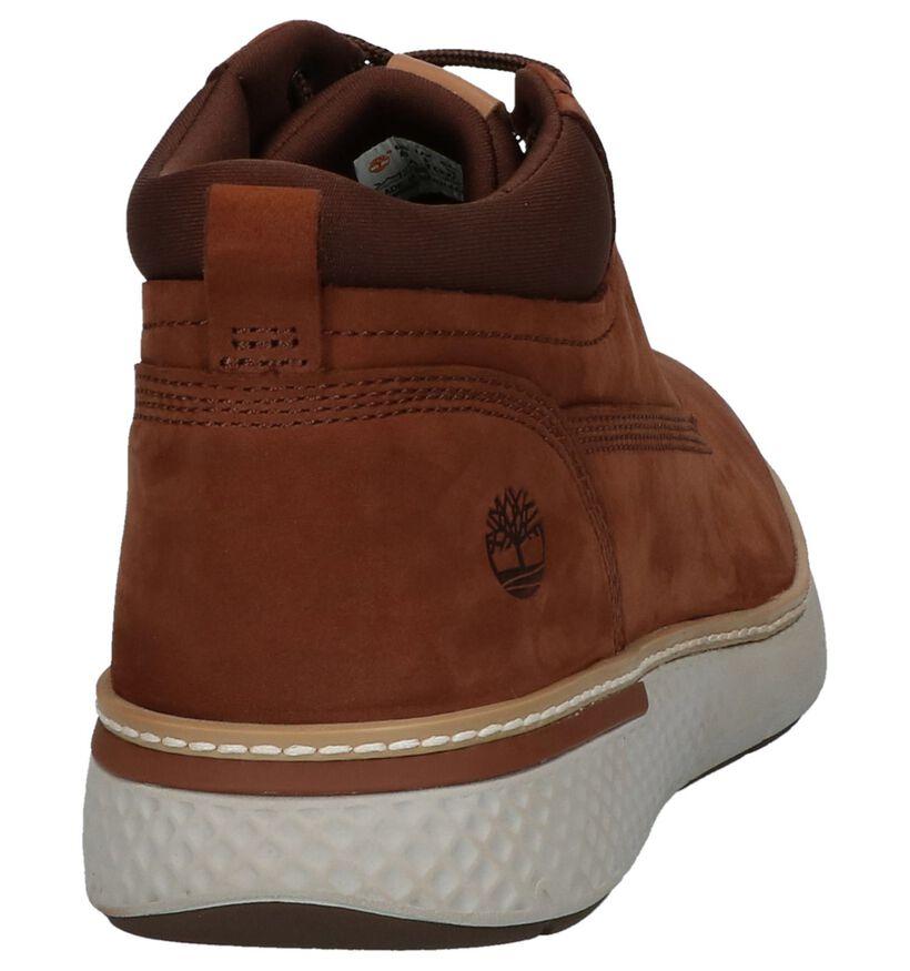 Timberland Chukka Chaussures hautes en Brun foncé en nubuck (222560)