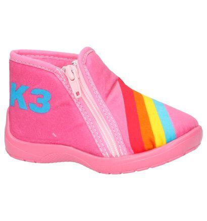 K3 Roze Pantoffels in stof (202783)