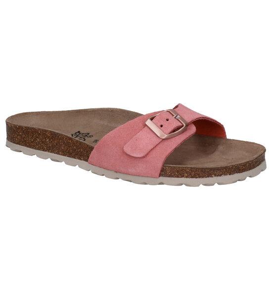 Big Leaf Roze Slippers