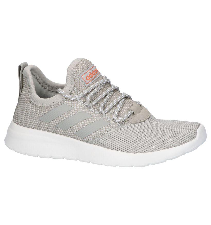 Beige Sneakers adidas Lite Racer in stof (237051)