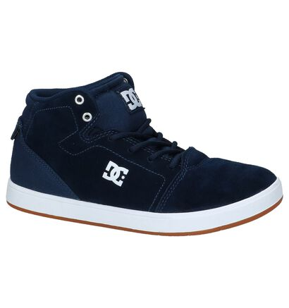 DC Shoes Crisis High Skateschoenen Donker Blauw in daim (207908)