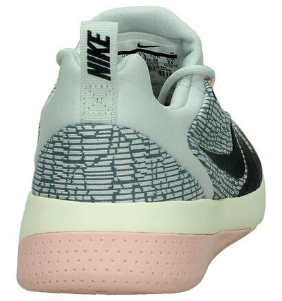 Nike Baskets basses en Gris clair en textile (200138)
