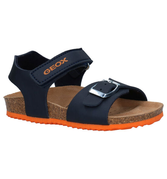 Geox Blauwe Sandalen