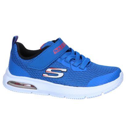 Blauwe Sneakers Skechers Dyna-Air in stof (250725)