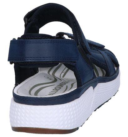 Allrounder Sandales à talons en Bleu foncé en simili cuir (246528)