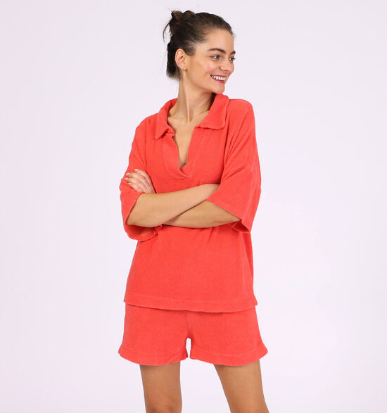 Dolce C. Ensemble Loungewear en Rouge