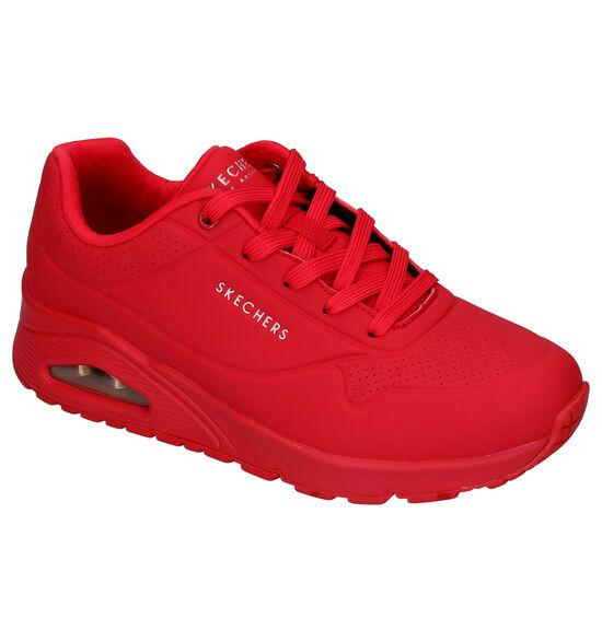 Skechers Uno Baskets en Rouge