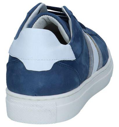 Blauwe Geklede Sneakers Hampton Bays, Blauw, pdp