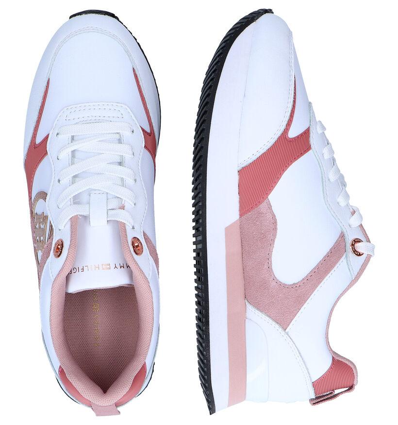 Tommy Hilfiger Feminine Witte Sneakers in kunstleer (295193)