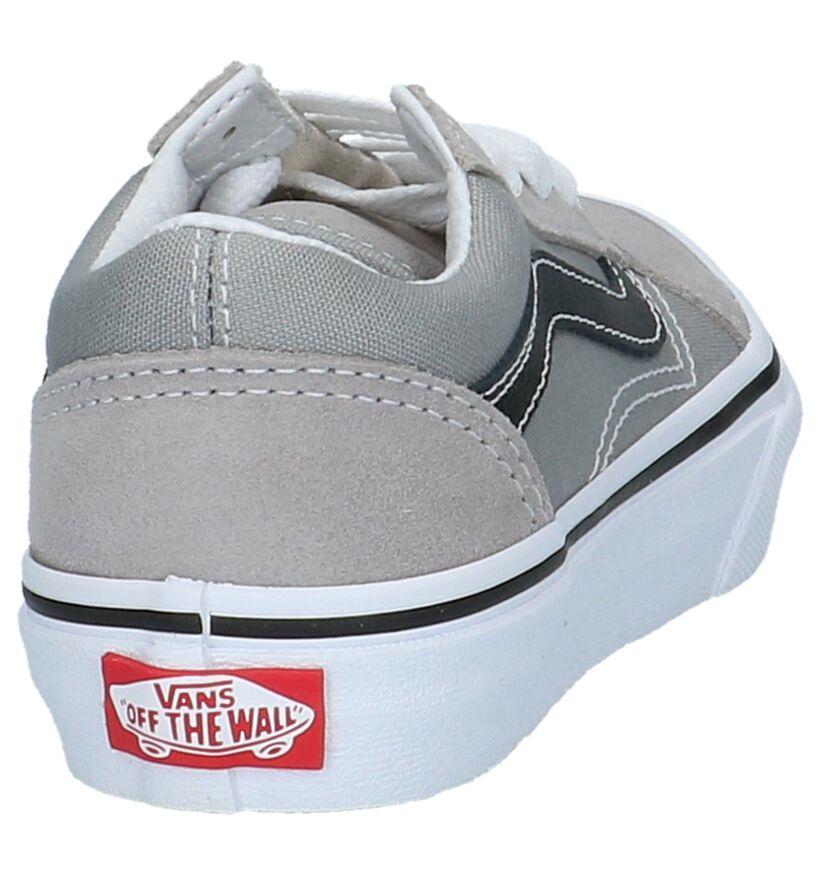 Vans Old Skool Skate sneakers en Vert en nubuck (210257)
