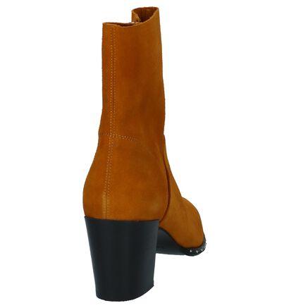 Okergele Korte Laarzen met Studs Bronx, Geel, pdp