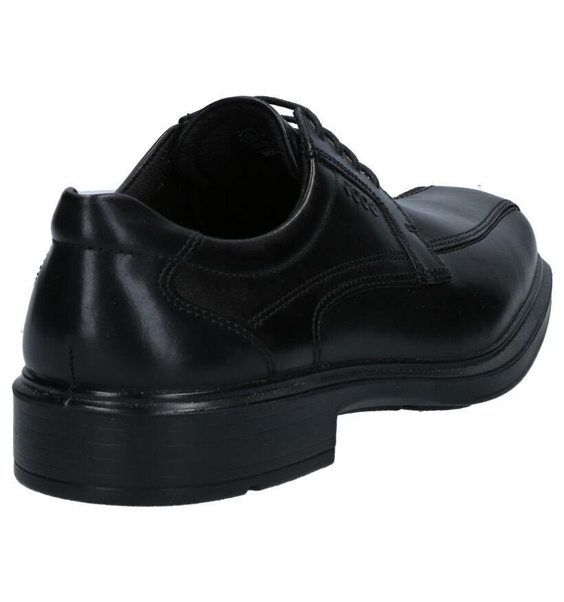 ECCO Chaussures habillées en Noir en cuir (270100)
