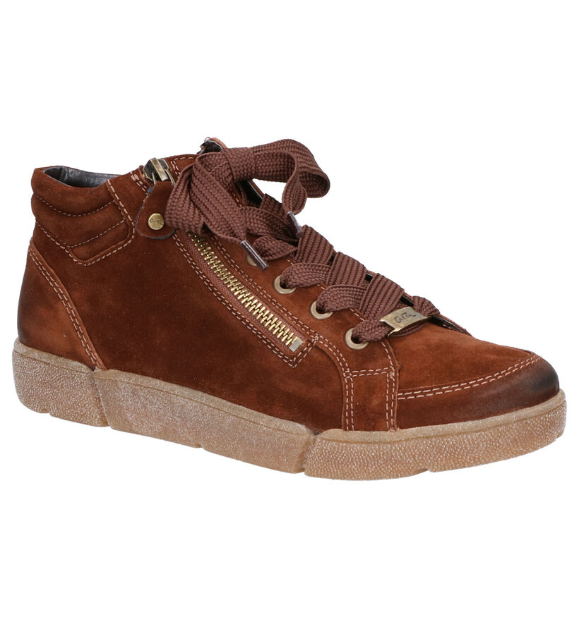 Ara High Soft Bottines en Marron en daim (260850)