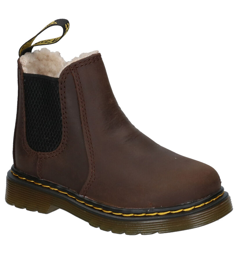 Dr. Martens 2976 Leonore Bruine Boots in leer (253347)