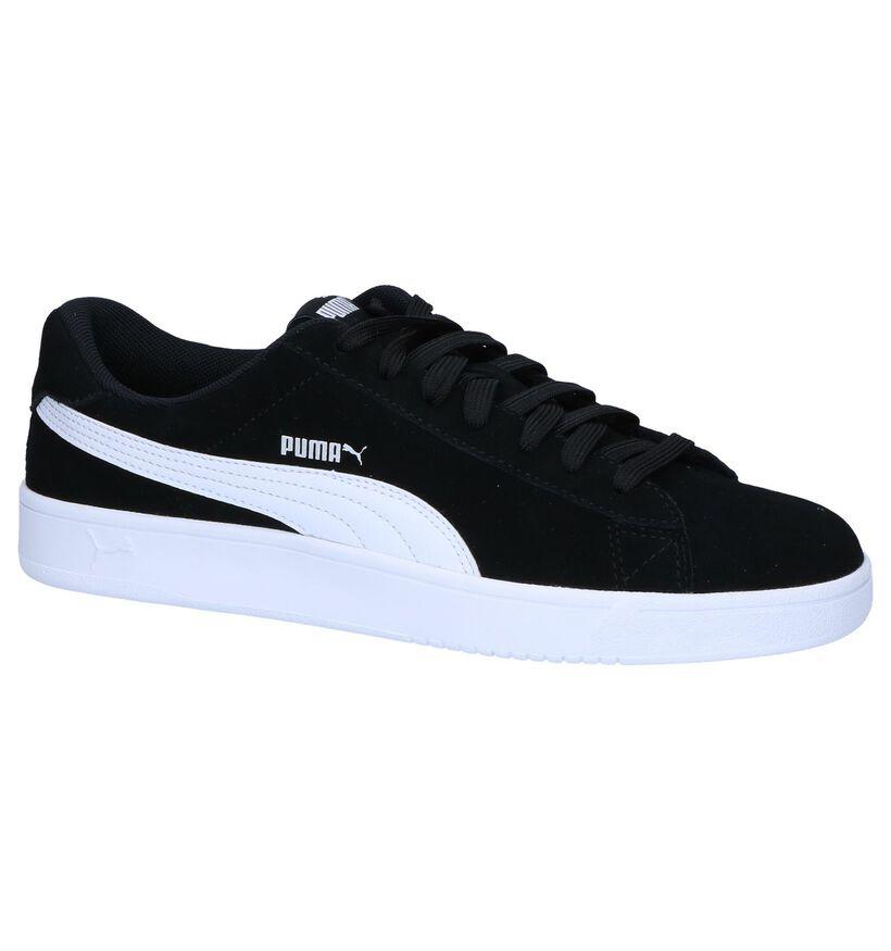 Zwarte Puma Court Breaker Derby Sneakers in leer (252600)