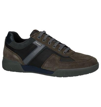 Geox Chaussures basses en Taupe en cuir (223754)