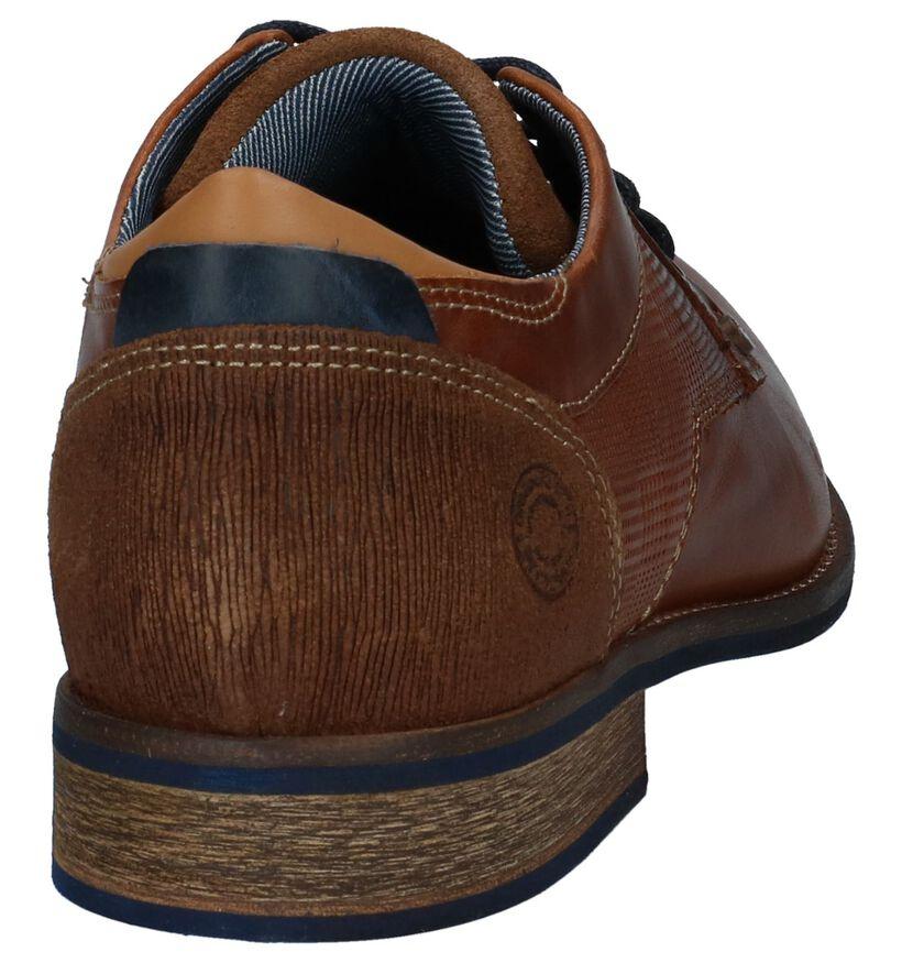 Bullboxer Chaussures habillées en Cognac en cuir (237609)