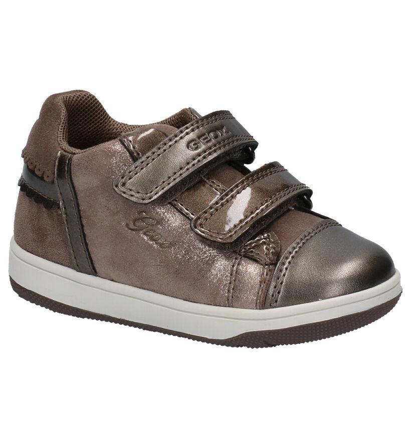 Geox Chaussures pour bébé  en Bronze en simili cuir (254481)
