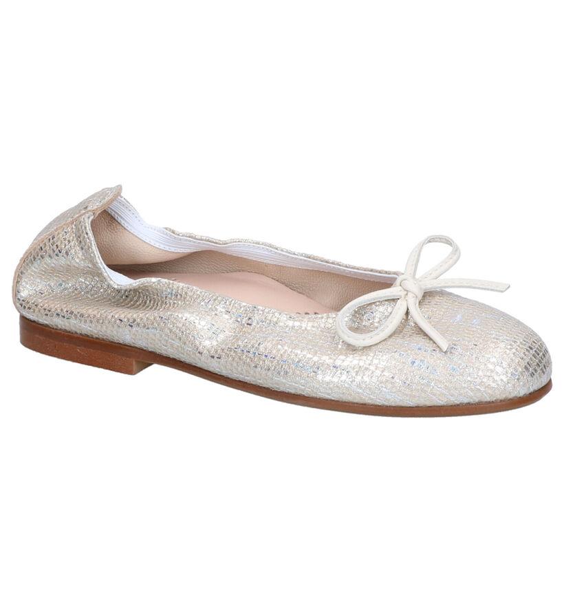 Beberlis Gouden Ballerina's in leer (271458)