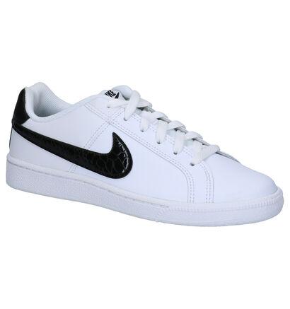 Nike Court Royale Witte Sneakers in leer (266531)