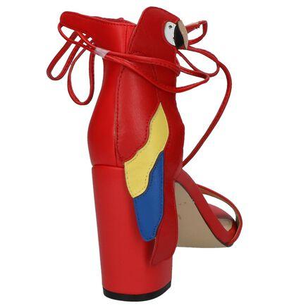 Rode Sandalen met Hoge Hak Katy Perry The Pierra, Rood, pdp