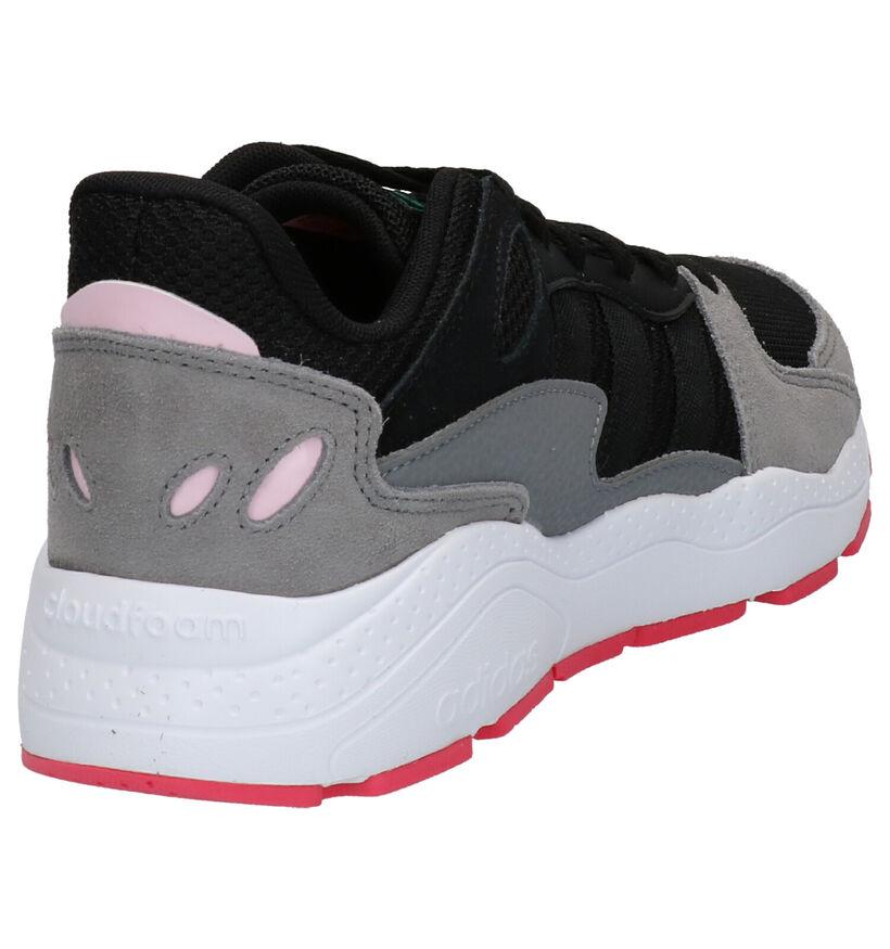 adidas Chaos Zwarte Sneakers in daim (252607)