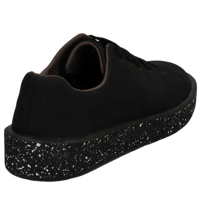 Camper Courb Chaussures à Lacets en Beige en textile (272219)