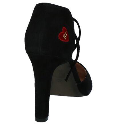 Zwarte Pumps met Bandje Fornarina Carrie, Zwart, pdp