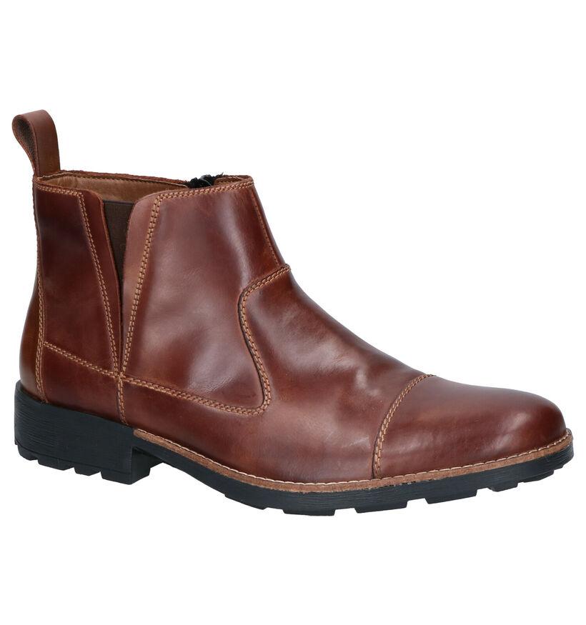 Rieker Chelsea Boots en Marron en cuir (262170)