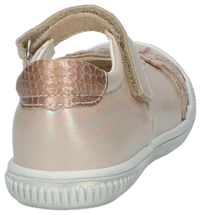 Bopy Sefafia Ballerina met Bandje Rose Gold in leer (211715)