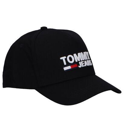 Zwarte Pet Tommy Hilfiger TJM Logo Cap, Zwart, pdp