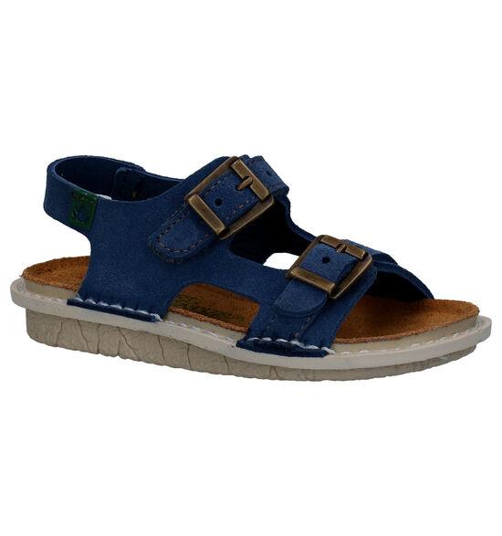El Naturalista Skin Sandales en Bleu