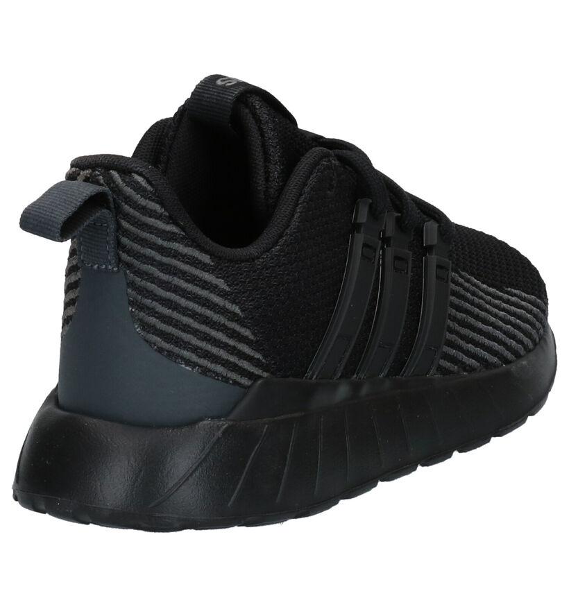 adidas Questar Flow Baskets en Noir en textile (264892)