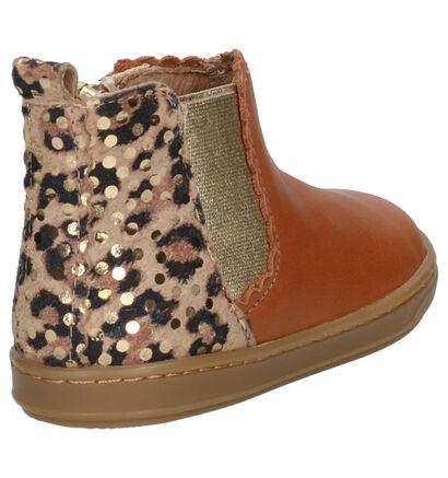 Shoo Pom Bouba Jodzip Cognac Boots in nubuck (255217)