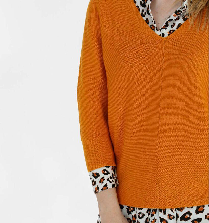 comma Oranje Trui (285062)