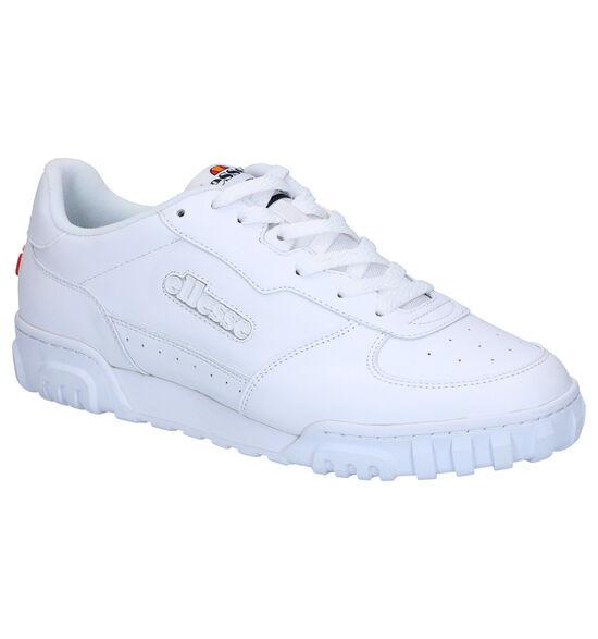 Witte Lage Sneakers Ellesse Tanker
