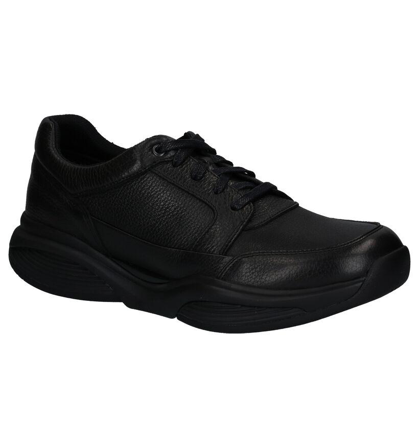 Xsensible Chaussures basses en Noir en cuir (259684)