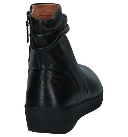 FitFlop Bottillons en Noir en cuir (225578)