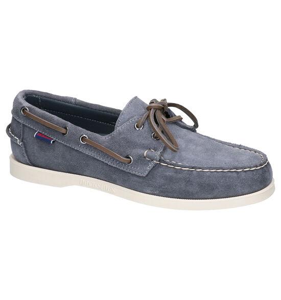 Sebago Chaussures bateau en Gris foncé
