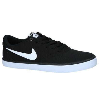 Zwarte Sneakers Nike SB Check Solar , Zwart, pdp