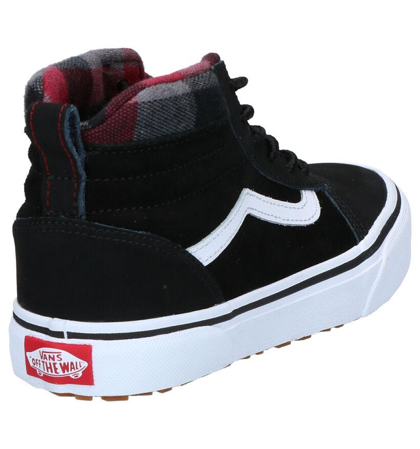 Vans Ward Sneakers Zwart in nubuck (264457)