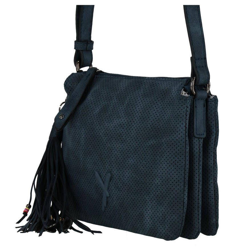 Suri Frey Sacs porté croisé en Noir en simili cuir (248457)