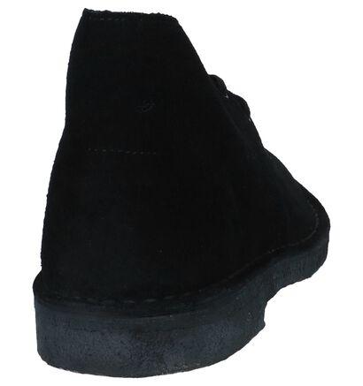 Beige Desert Boots Clarks in daim (244274)